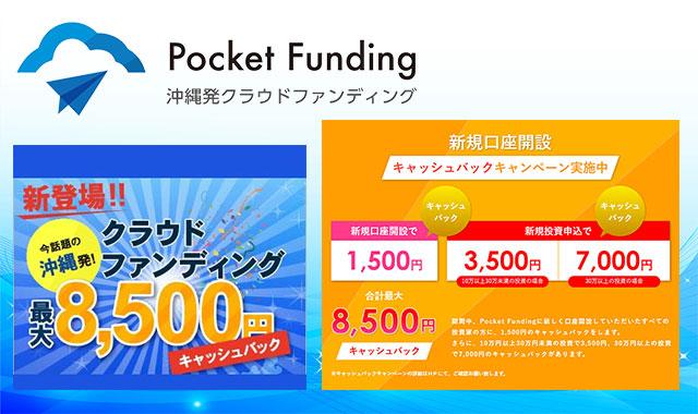 ポケットファンディングのキャンペーン内容