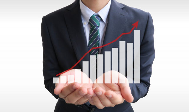 市場に影響されない安定性